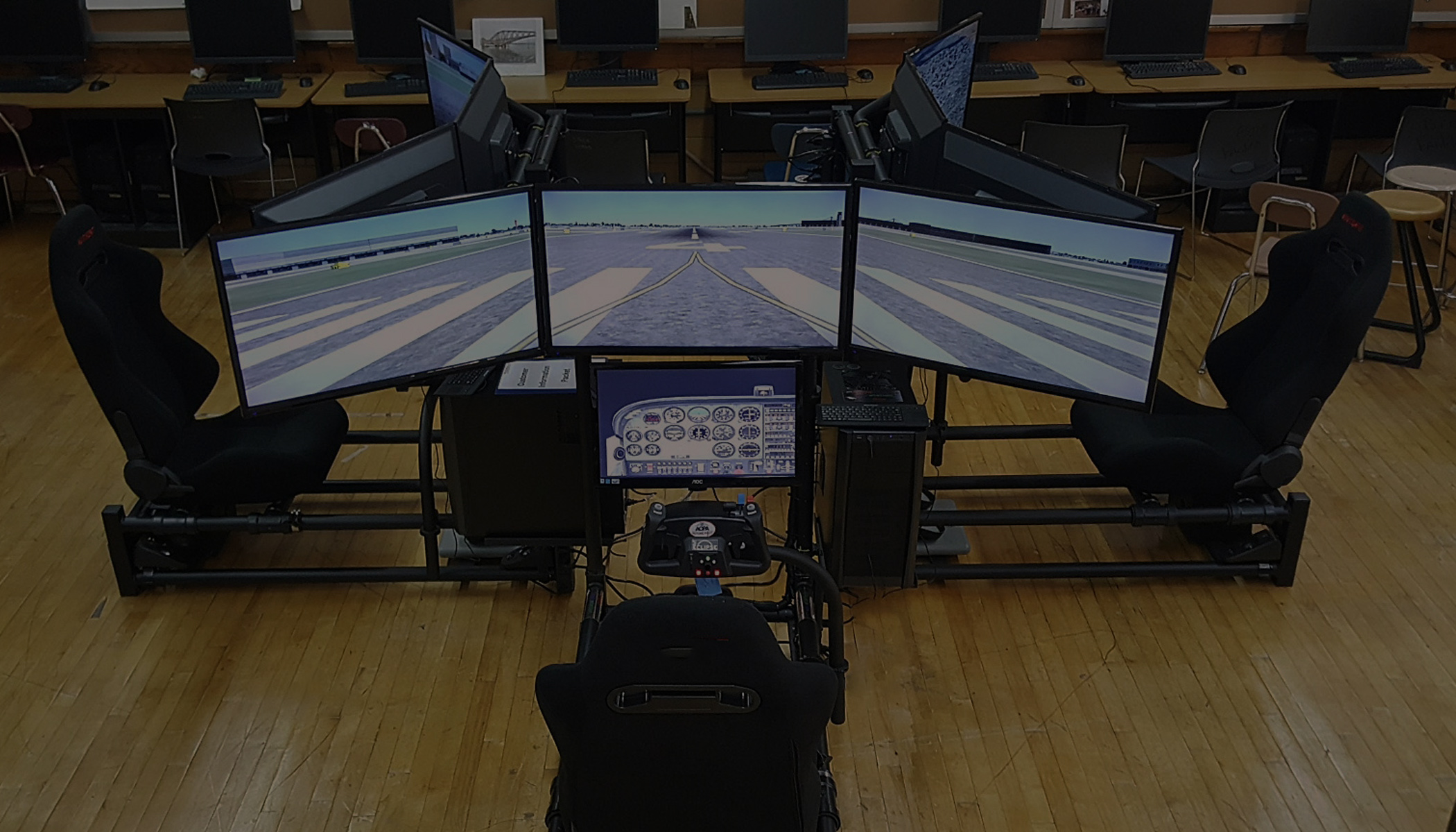 Engaging Students In STEM With Flight Simulation